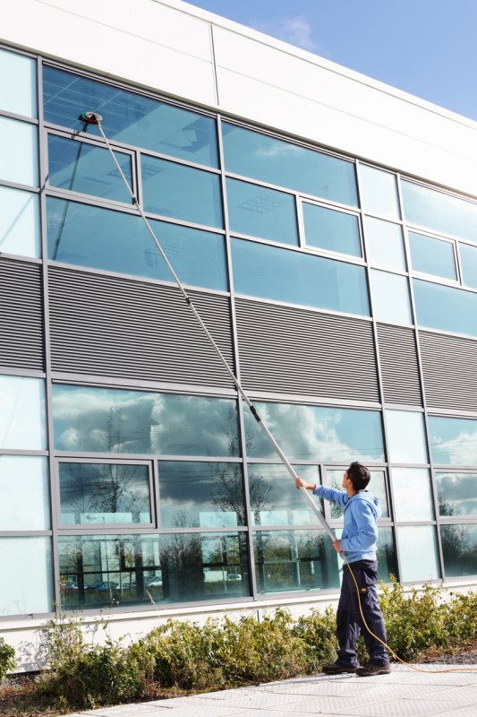 commercial exterior cleaning